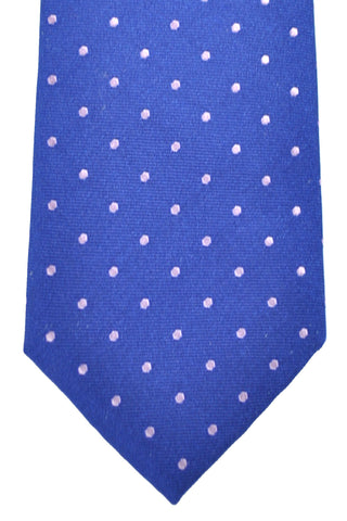 Hugo Boss Tie Navy Pink Dots SALE