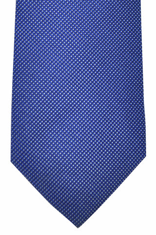 Hugo Boss Tie Navy Silver Mini Pattern SALE