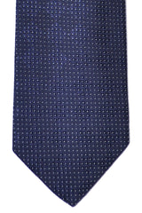 Hugo Boss Tie Navy Silver Dots