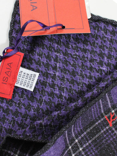 Genuine Isaia pocket square