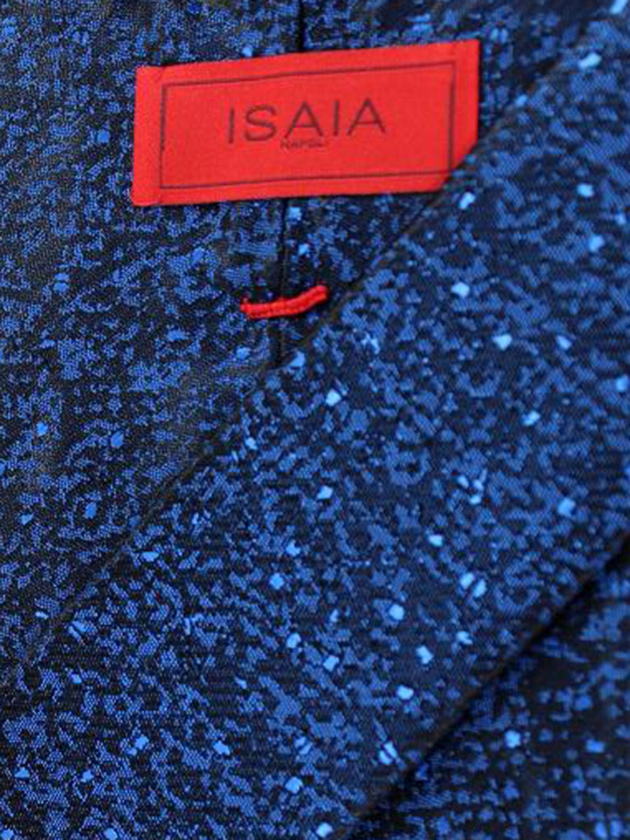 Isaia Napoli Tie Royal Black