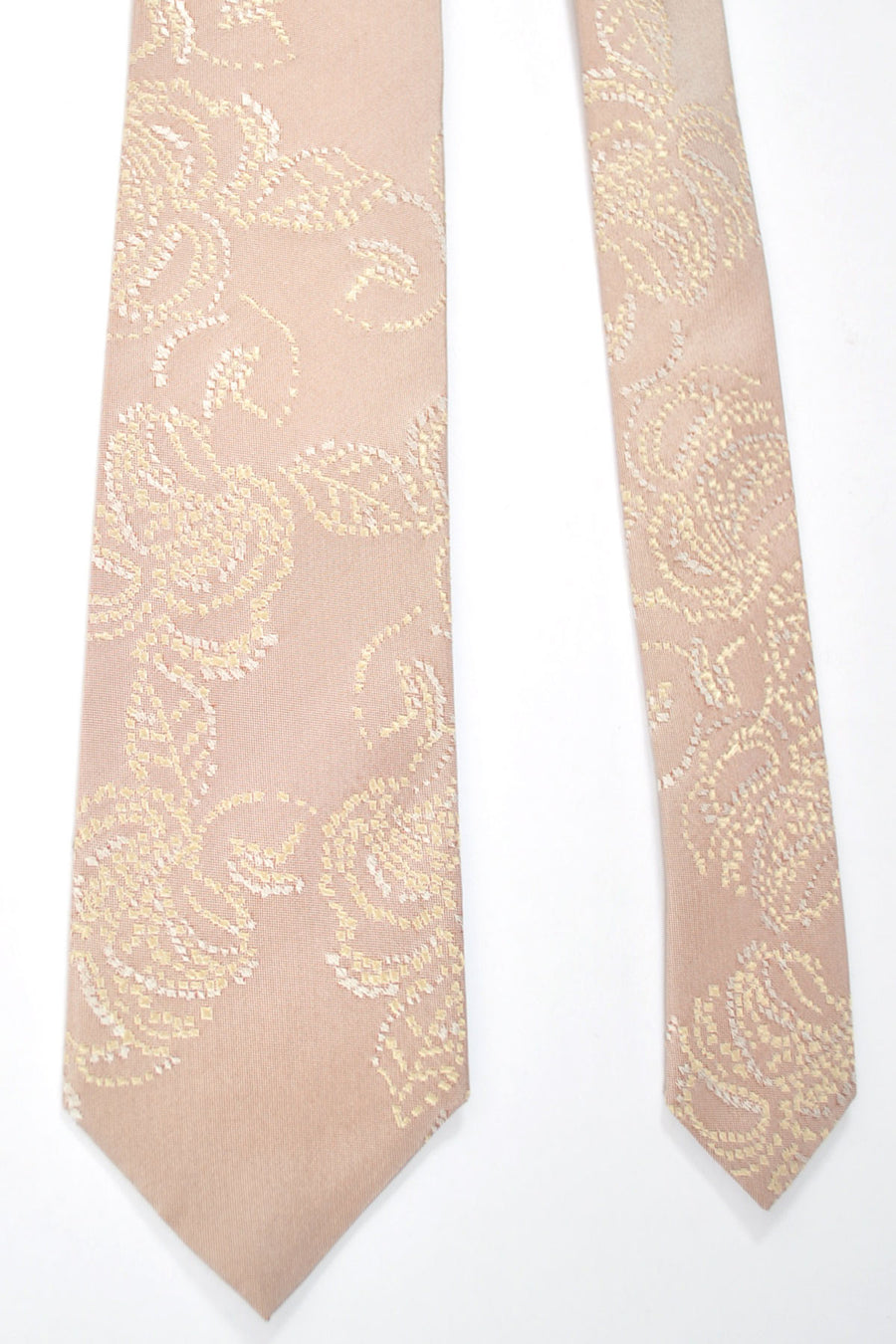 Kenzo Narrow Tie Pink Cream Floral