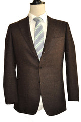 Kiton Sport Coat Brown Cashmere Sport Jacket 48 / US 38