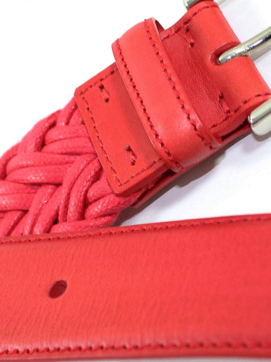 Kiton Belt Red Pink Men Belt