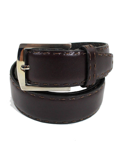 Kiton Leather Belt Brown Men