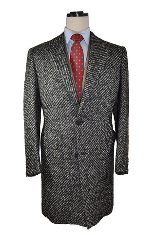 Kiton Wool Coat Charcoal Gray Cipa 1960 Coat EUR 52 / US 42 FINAL SALE