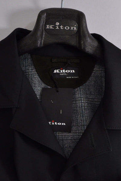 Kiton Wool Silk Coat Gray Winter Coat EUR 50/ US 40 SALE