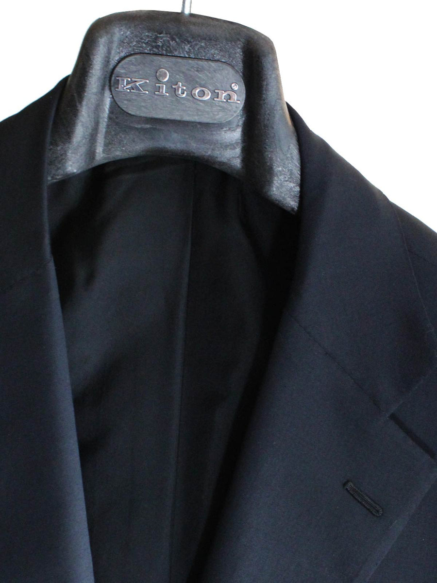 Kiton Sport Coat Dark Gray Wool