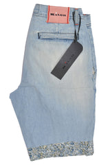 Kiton Shorts Denim Summer Collection 31 SALE