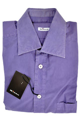 Kiton Sport Shirt Purple