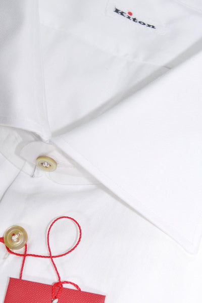 Kiton Dress Shirt White