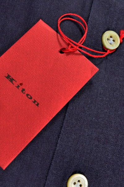 Kiton Dress Shirt Purple Gray Blend Kiton Tags