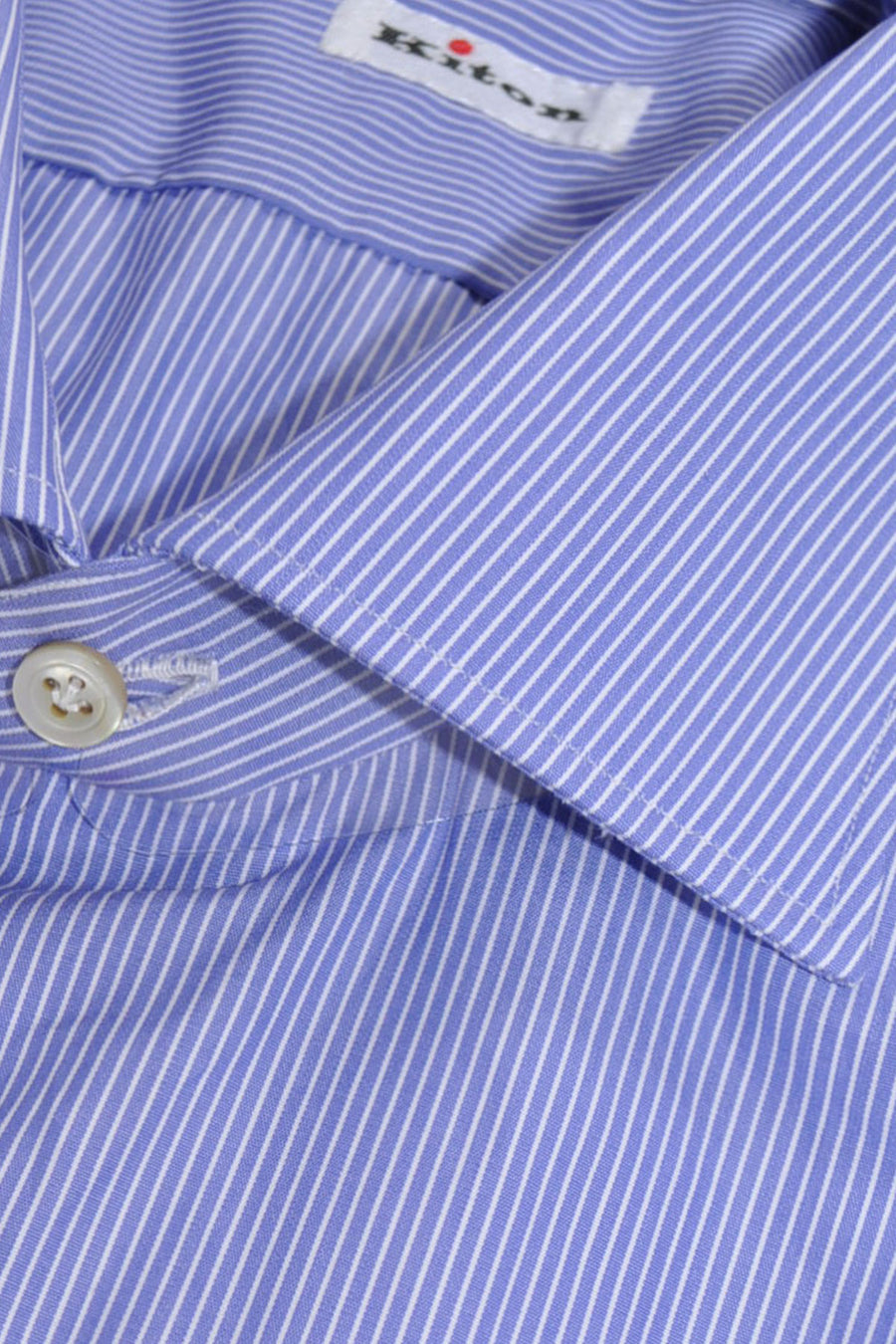 Kiton Dress Shirt Periwinkle Blue