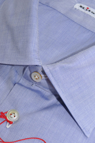 Kiton Dress Shirt Blue Lavender
