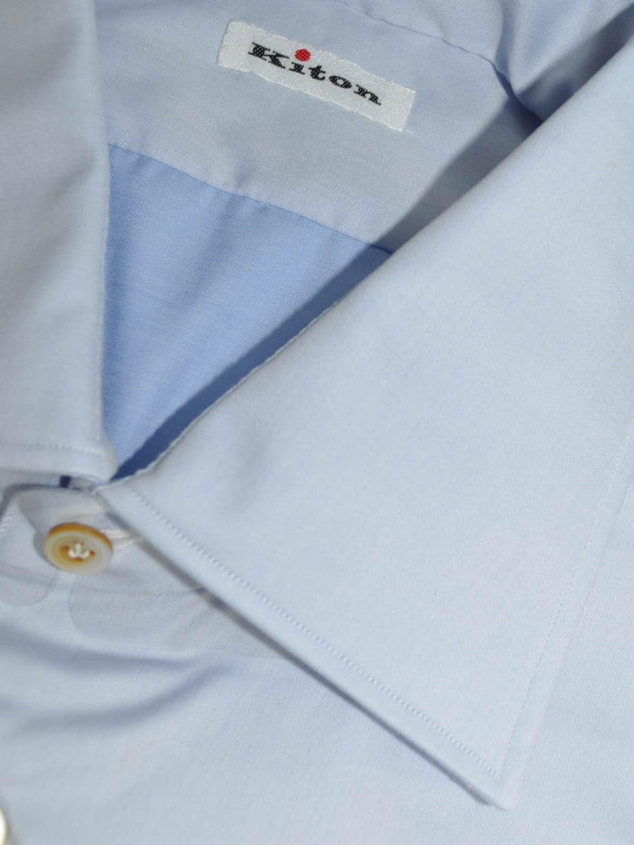 Kiton Dress Shirt Blue
