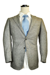 Kiton Sport Coat Navy Gray