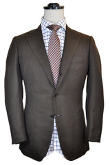 Kiton Sportcoat Wool Brown Genuine FINAL SALE
