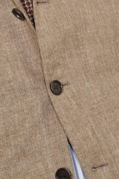 Kiton Sportcoat Linen Cashmere Brown Gray EUR 55 / US 43/44 SALE