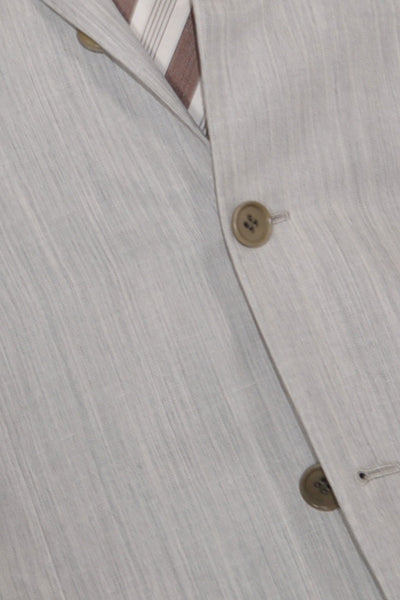 Kiton Sportcoat Light Gray Cashmere Linen Silk EUR 48 - US 38 R SALE
