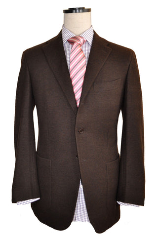 Kiton Sportcoat Brown Cashmere EUR 52 / US 42 R SALE