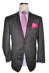 Kiton Men Suit Gray Discounted
