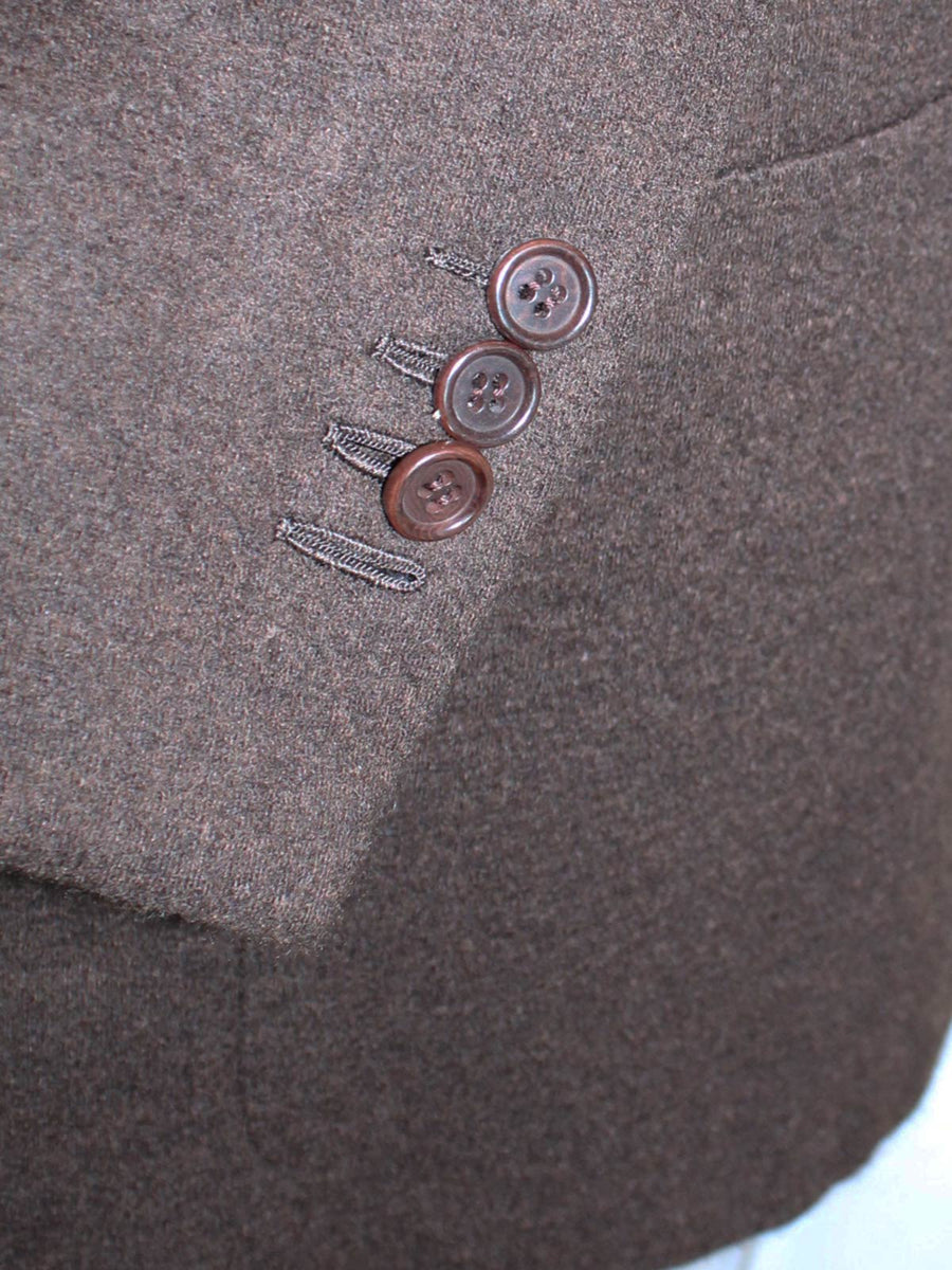 Kiton Sport Coat Brown Cashmere Blazer