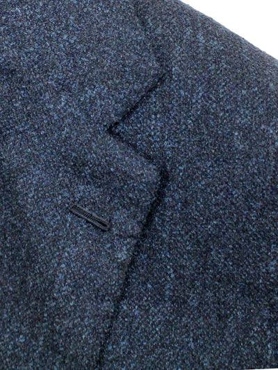 Kiton SportCoat Midnight Blue Cashmere Linen