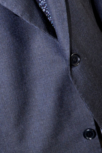 Kiton Suit Gray Midnight Blue Gray 58 EUR / 46 US S SALE
