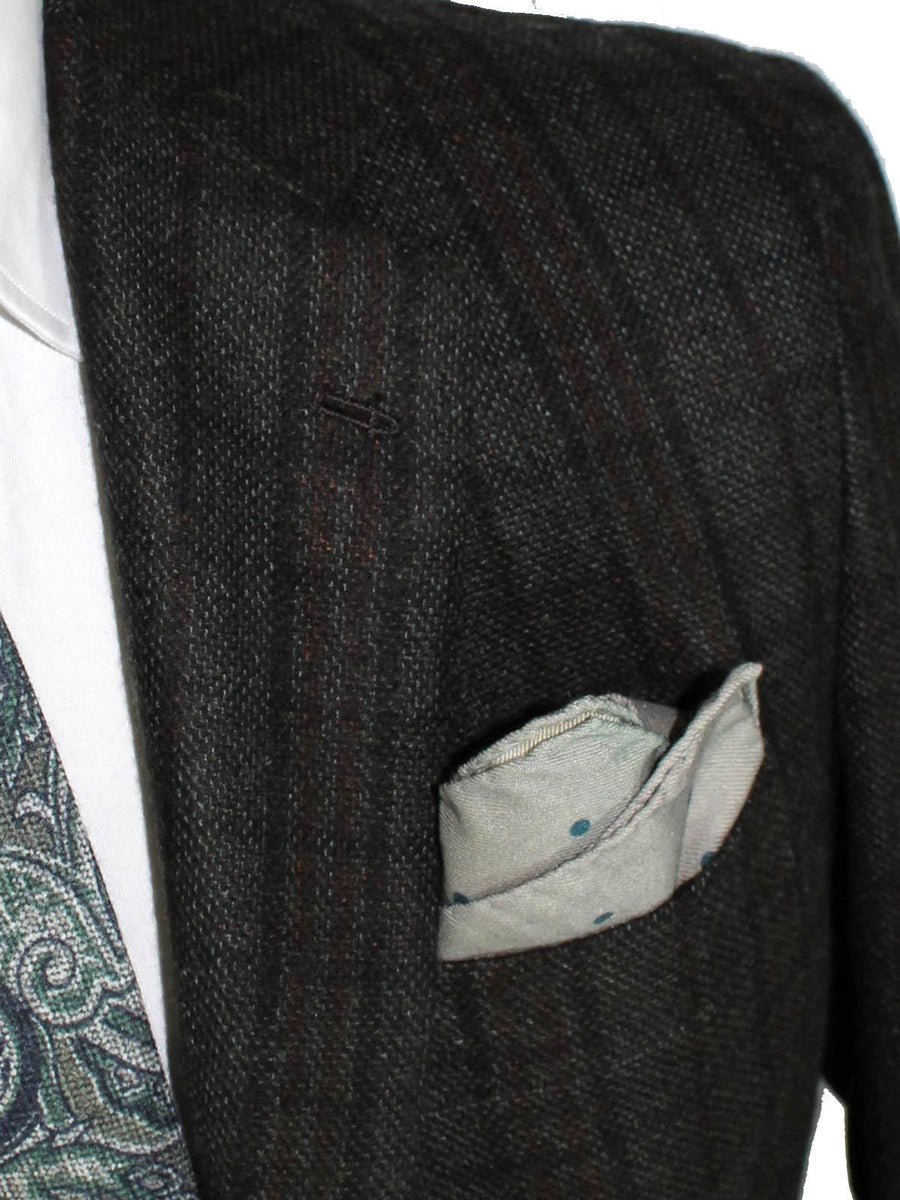 Kiton Sport Coat Gray Black Brown Cashmere Blazer EUR 50/ US 40 R