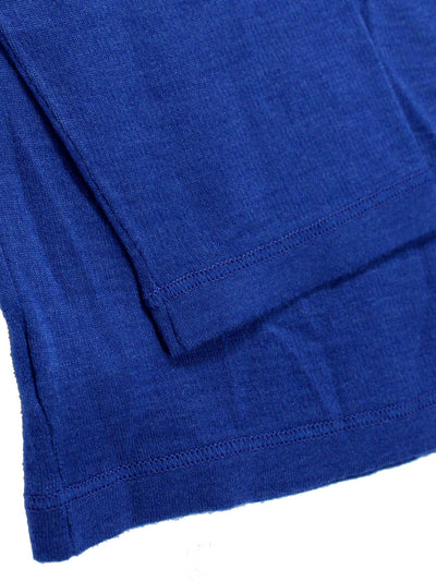 Kiton Cashmere Silk Sweater Royal Blue