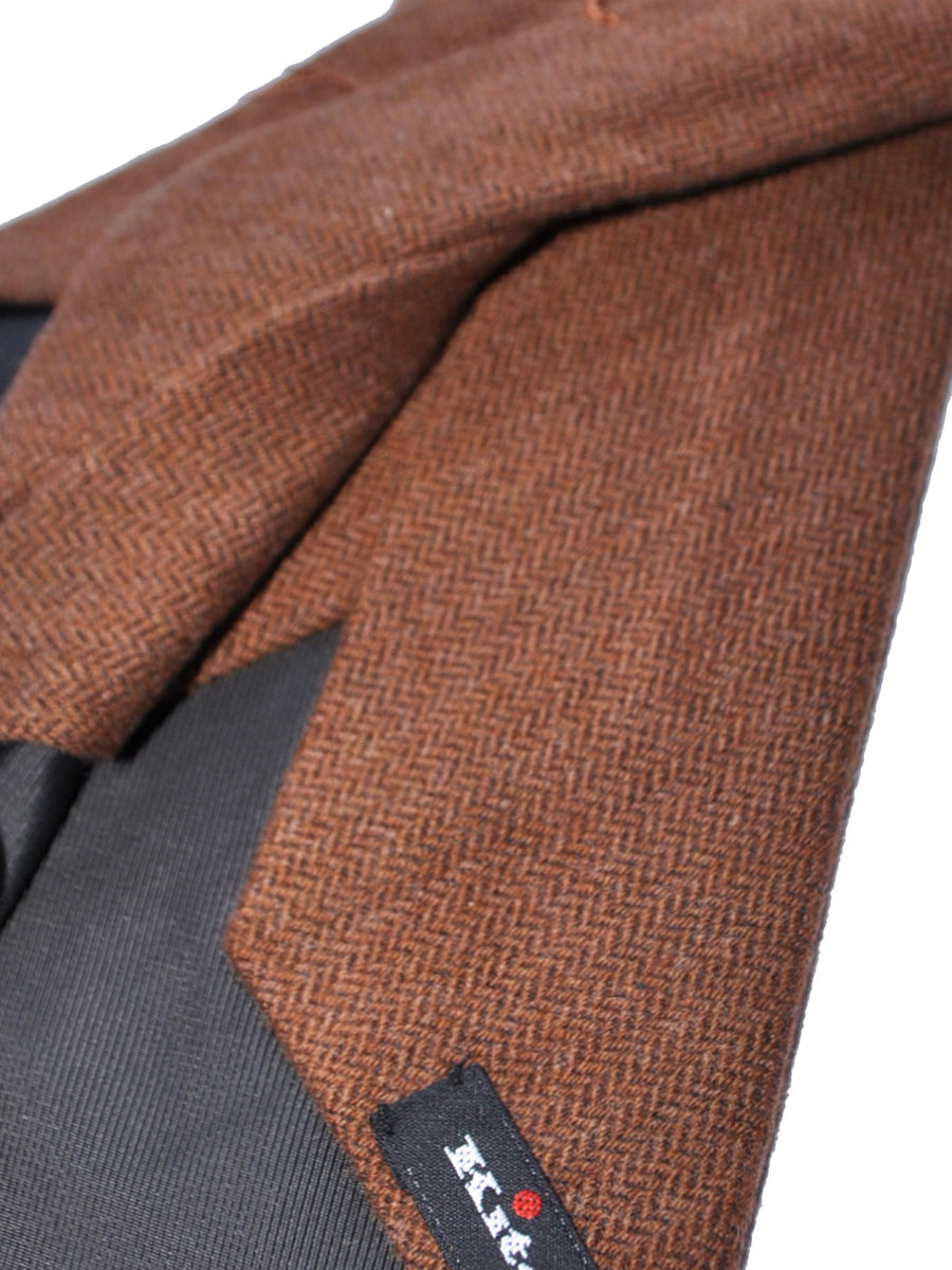 Kiton Tie Brown - Sevenfold Necktie
