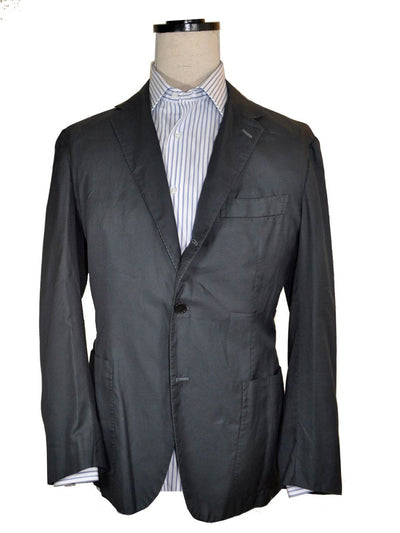 Kiton Sport Coat Dark Blue Cotton Blazer EUR 54 -US 43/44 R SALE