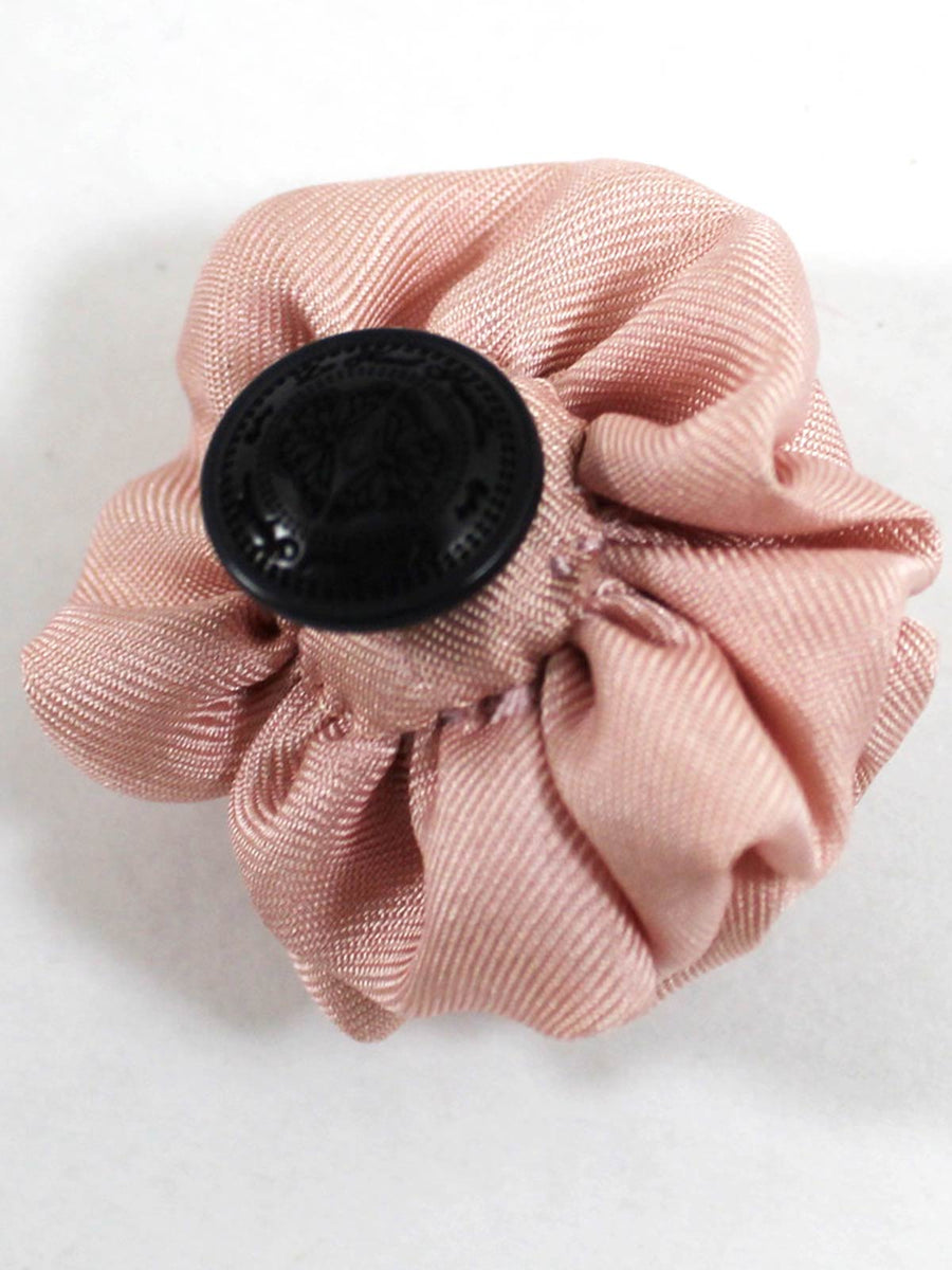 Le Noeud Papillon Silk Lapel Flower Solid Light Pink