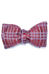 Le Noeud Papillon Silk Bow Tie Purple Lavender