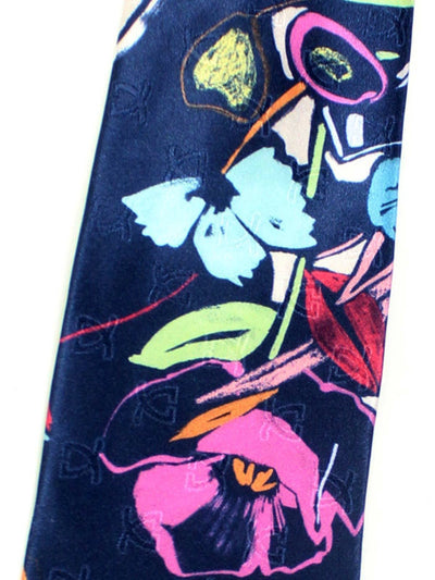 Leonard Paris Tie Abstract Floral