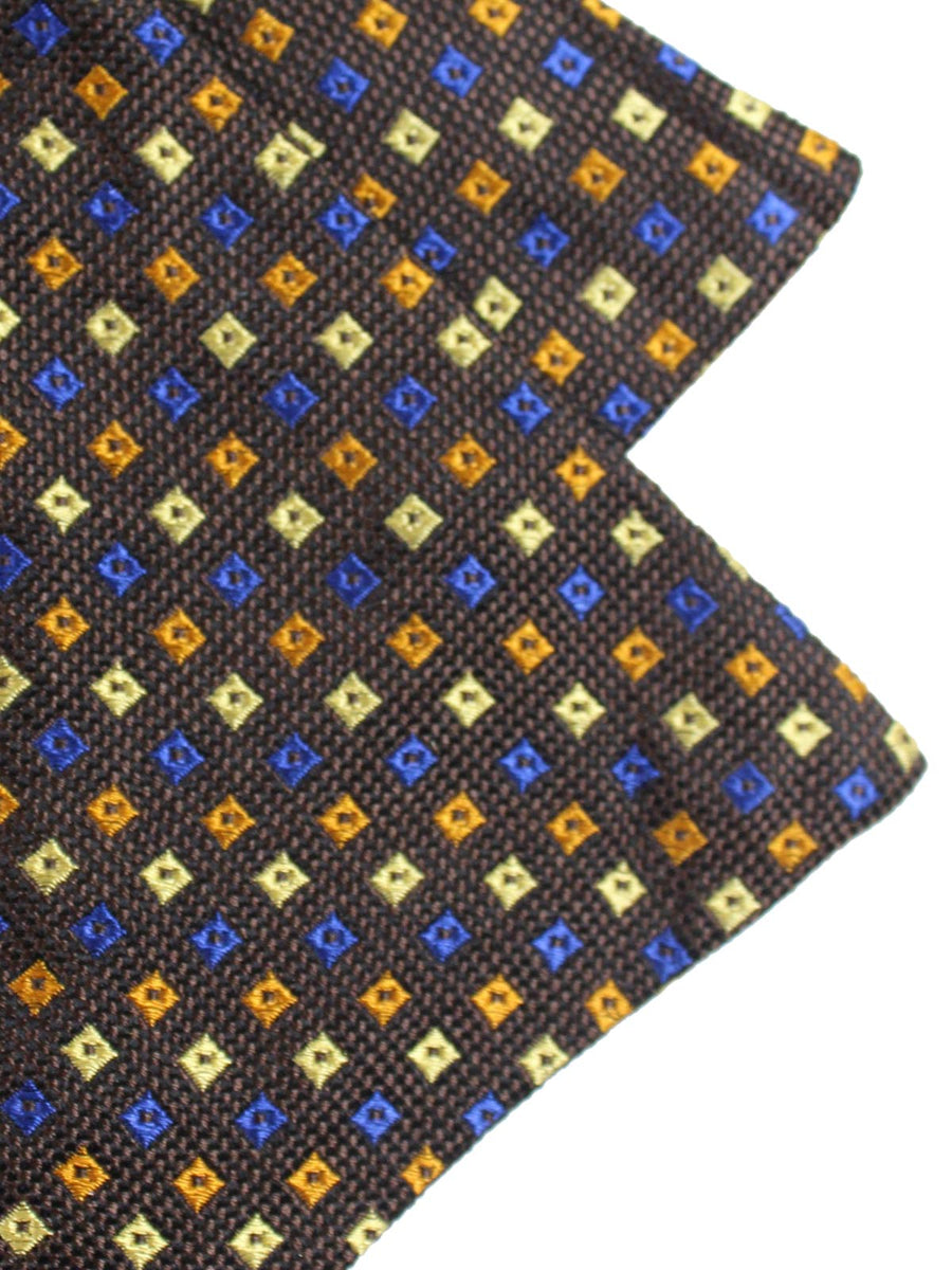 Ascot Tie Brown Diamonds