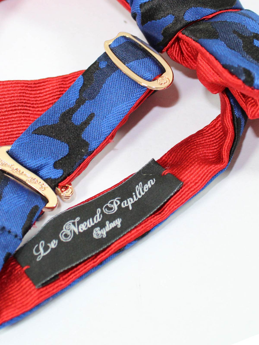 Bow Tie Royal Blue Camo