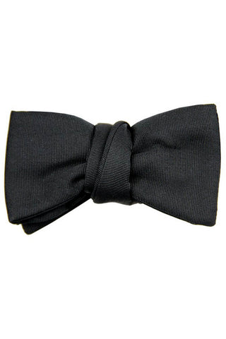 Le Noeud Papillon Bow Tie Black Grosgrain