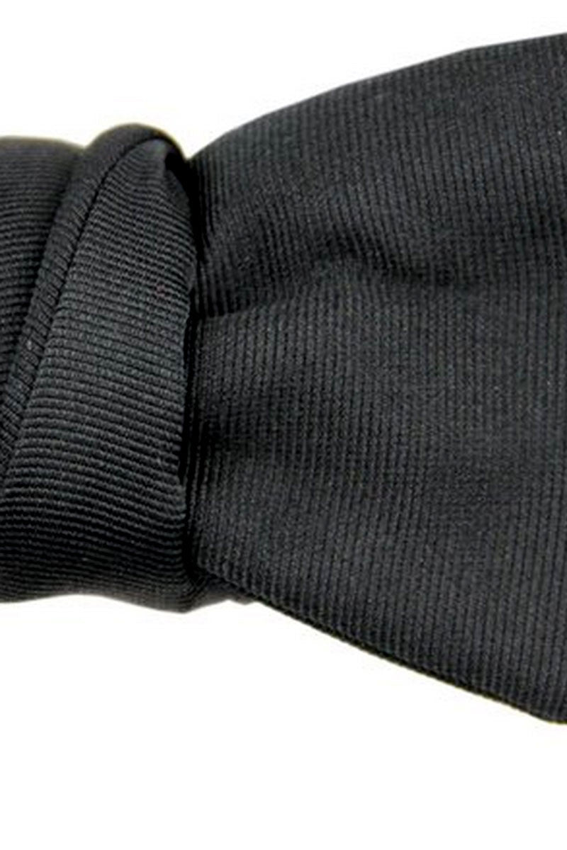 Bow Tie Black Grosgrain