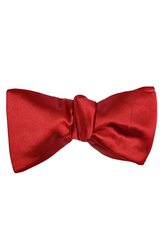 Le Noeud Papillon Burgundy Bow Tie