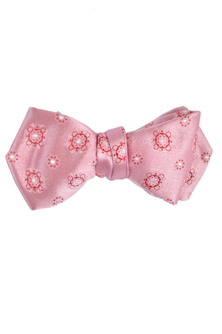 Le Noeud Papillon Bow Tie Pink Red - Diamond Point SALE