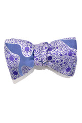 Le Noeud Papillon Silk Bow Tie Purple Dots