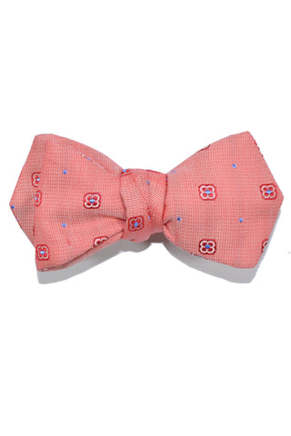 Le Noeud Papillon Bow Tie Pink Red Blue Dots Diamond Point Self Tie SALE