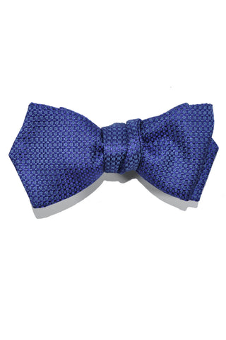 Le Noeud Papillon Bow Tie Purple Blue Diamond Point Self Tie