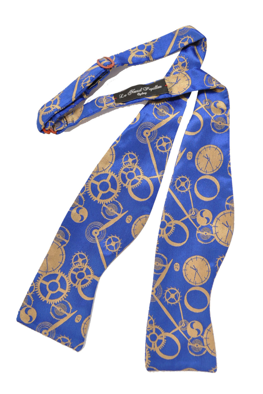Le Noeud Papillon Bow Tie Royal Blue Clocks SALE