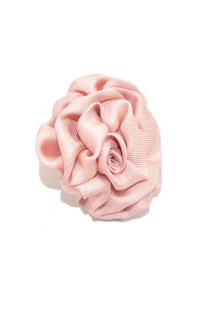 Le Noeud Papillon Silk Lapel Flower Light Pink