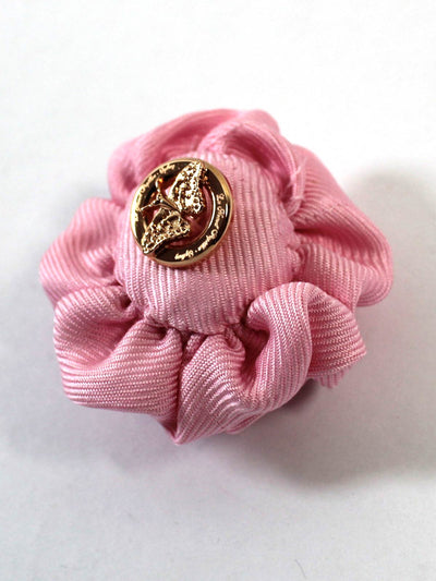 Le Noeud Papillon Silk Lapel Flower Pink