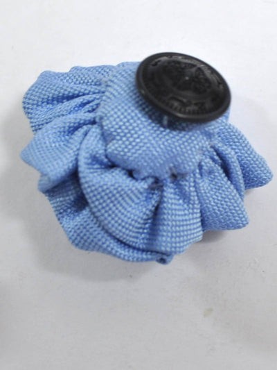 Le Noeud Papillon Silk Lapel Flower Blue