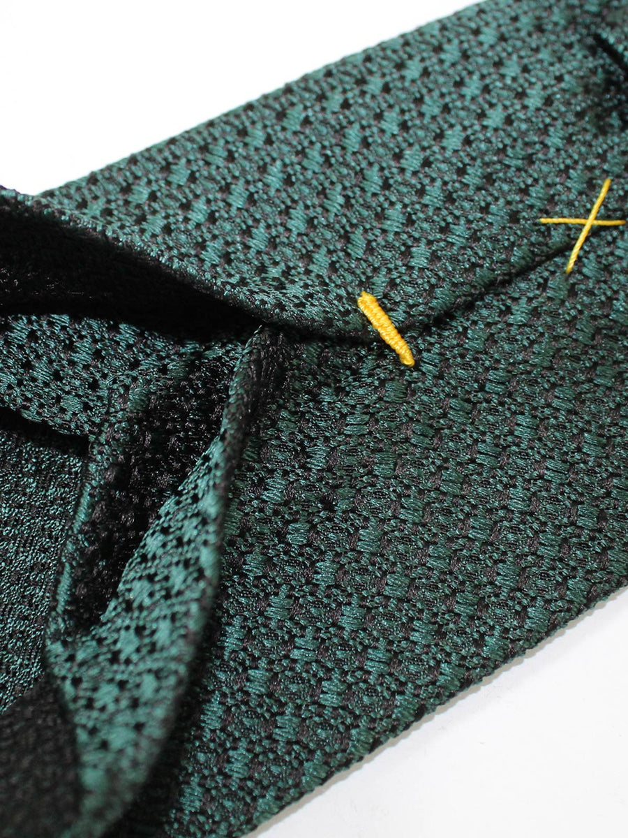 Unlined Sevenfold Tie Dark Green SALE