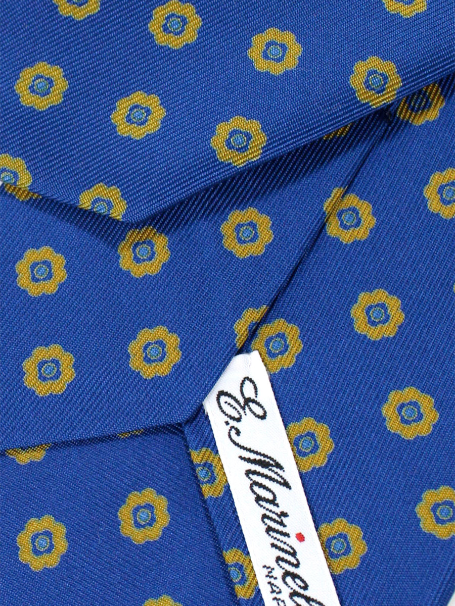 E. Marinella Napoli Tie Royal Geometric - Wide Necktie
